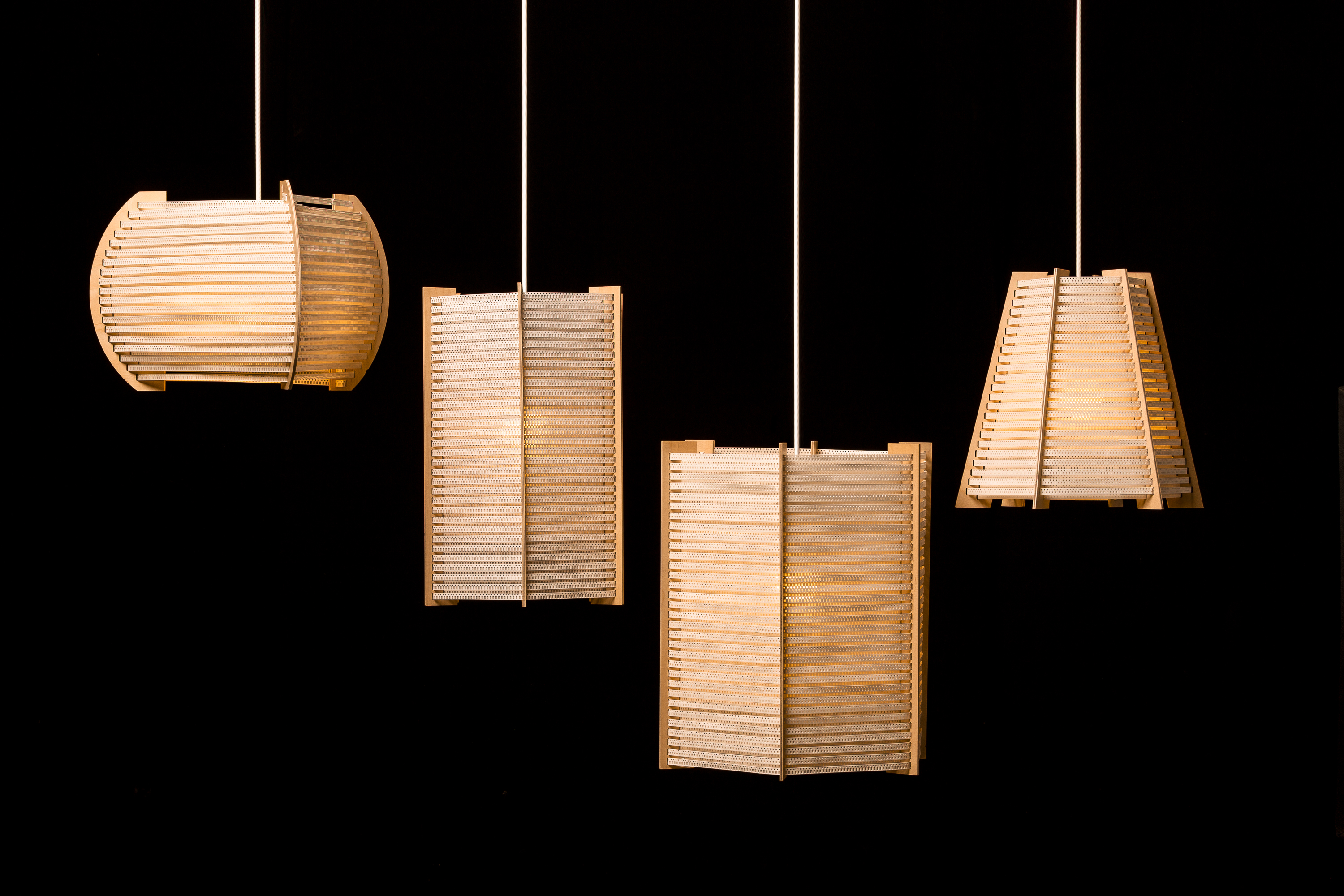 CINTES lamps fill any interior with a warm and diffused light.