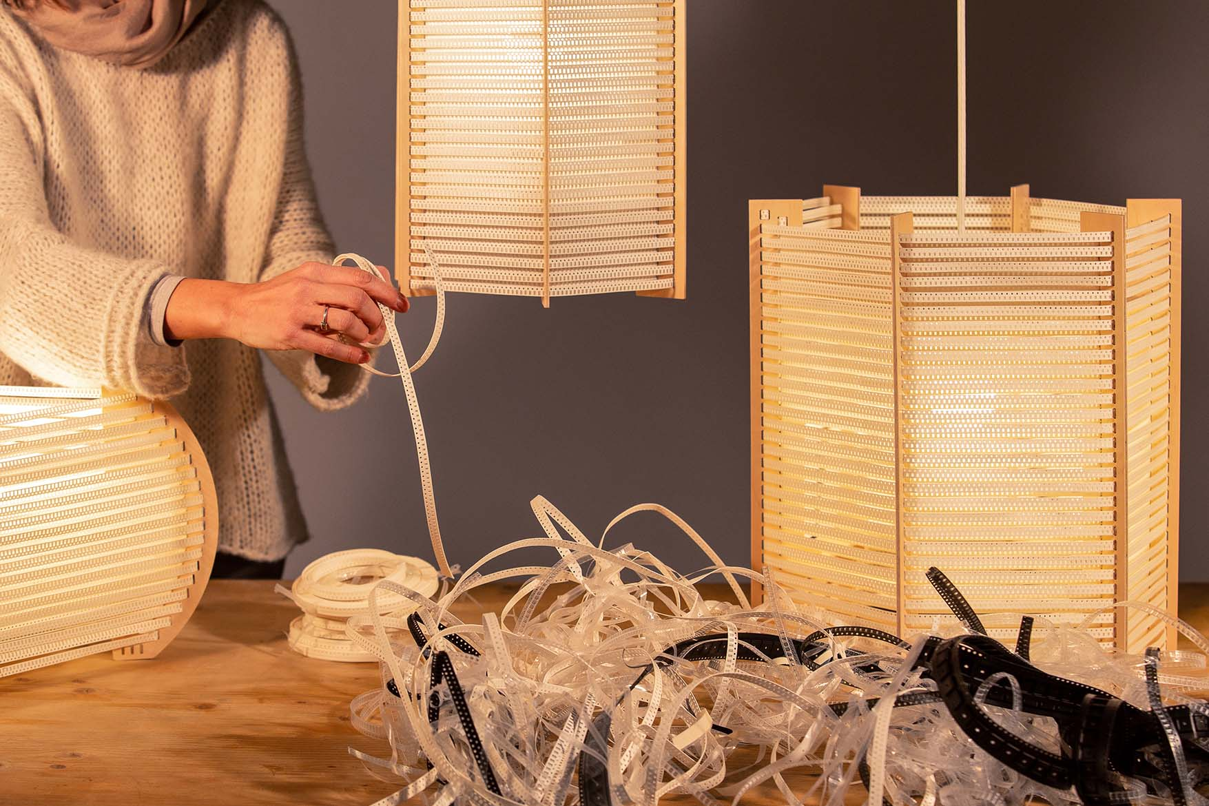 Enter and discover our original and unique collection of Lamps Made from Recycled Materials